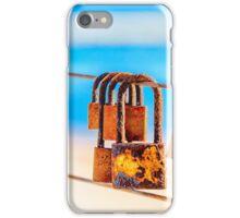 Bridge Padlocks Frankston Beach 2 iPhone Case/Skin