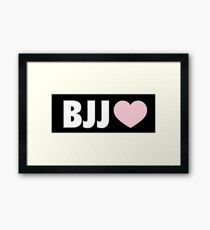 BJJ Framed Print