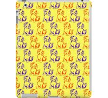 Cute dog puppies pattern for kids iPad Case/Skin