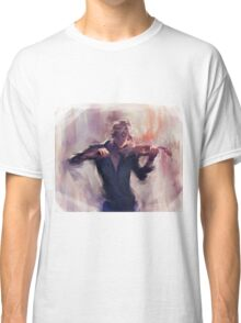 Violin and James Carstairs Classic T-Shirt