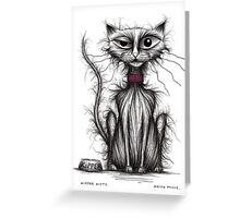 Kipper kitty Greeting Card