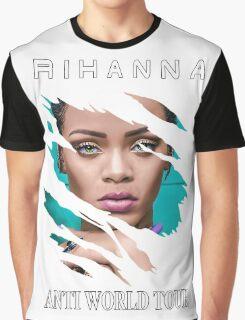 RIHANNA ANTI WORLD TOUR 2016 Graphic T-Shirt