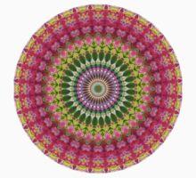 Geometric Mandala Baby Tee
