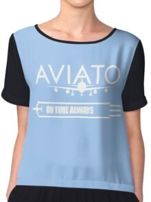 Aviato Silicon Valley  Chiffon Top
