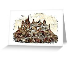Burg Hohenzollern, Germany Greeting Card