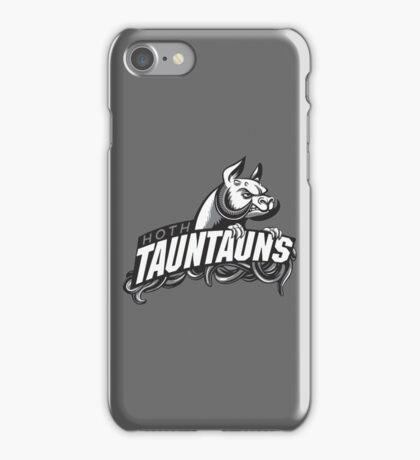 HOTH TAUNTAUNS FOOTBALL TEAM iPhone Case/Skin