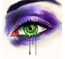 Green Eye Photographic Print