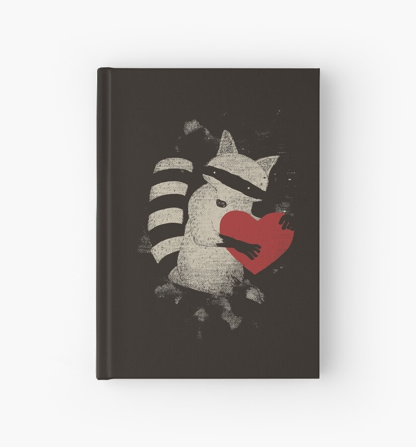 'Thief' Hardcover Journal by tobiasfonseca