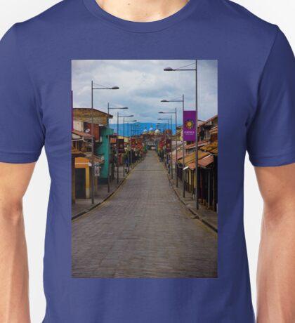 The Inca Trail Passes Through Cuenca Unisex T-Shirt