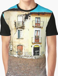 L'Aquila: collapsed building Graphic T-Shirt