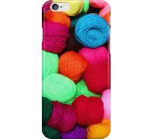 Colorful Skeins of Wool iPhone Case/Skin