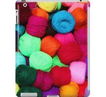 Colorful Skeins of Wool iPad Case/Skin