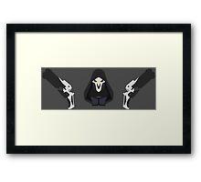 Minimalistic Reaper Framed Print