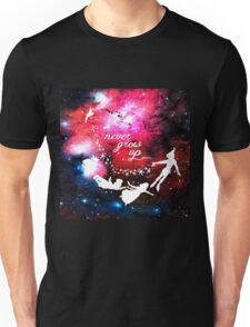 Never Grow Up Galaxy Unisex T-Shirt