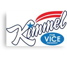 jimmy kimmel for vice president Canvas Print