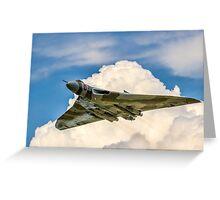 Avro Vulcan B.2 XH558 - Spirit of Noise? Greeting Card