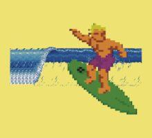 CALIFORNIA GAMES - SURFING - MASTER SYSTEM Kids Tee