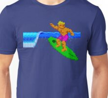 CALIFORNIA GAMES - SURFING - MASTER SYSTEM Unisex T-Shirt