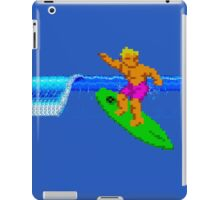 CALIFORNIA GAMES - SURFING - MASTER SYSTEM iPad Case/Skin