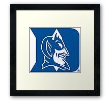 Duke Blue Devils Framed Print
