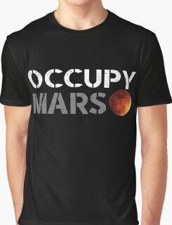 elon musk occupy mars Graphic T-Shirt