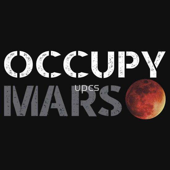 Elon Musk Occupy Mars Gifts Amp Merchandise Redbubble