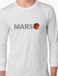 elon musk occupy mars Long Sleeve T-Shirt
