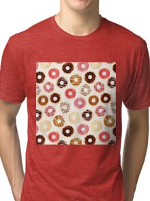 Delicious Donuts Tri-blend T-Shirt