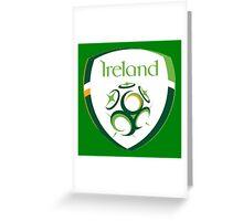 Ireland Italia 90 Greeting Card