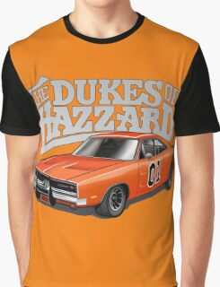 DUKES OF HAZZARD - DODGE GENERAL LEE Graphic T-Shirt