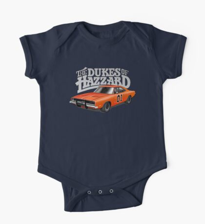 DUKES OF HAZZARD - DODGE GENERAL LEE One Piece - Short Sleeve
