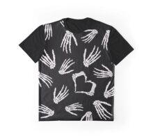 Skeleton Hands Graphic T-Shirt