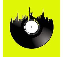 new york city record Photographic Print