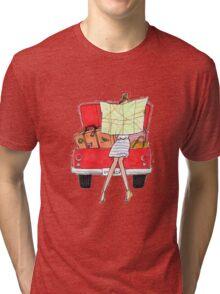 Travel Up Tri-blend T-Shirt