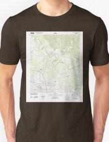 USGS TOPO Map Alabama AL Willow Springs 20110927 TM Unisex T-Shirt