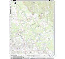 USGS TOPO Map Alabama AL Willow Springs 20110927 TM iPad Case/Skin