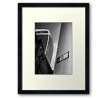 Idolization @londonlights Framed Print