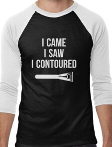 I Came i Saw i CONTOURED - Make up Artist Design brush Men's Baseball ¾ T-Shirt
