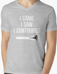 I Came i Saw i CONTOURED - Make up Artist Design brush Mens V-Neck T-Shirt