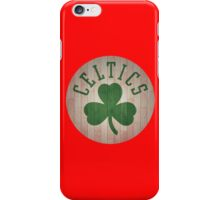 boston celtic logo iPhone Case/Skin
