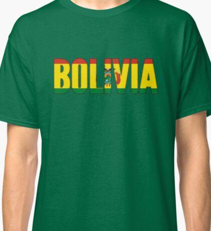Bolivia Flag Classic T-Shirt