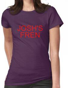 Music/Humour - Josh's Fren Womens Fitted T-Shirt