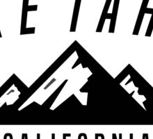 LAKE TAHOE CALIFORNIA DECAL Mountain Skiing Ski Snowboard Snowboarding Sticker