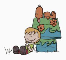 SNOOPY-DOO - SHAGGY BROWN Kids Tee