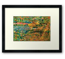 Morning Sand Framed Print