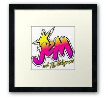 JEM AND THE HOLOGRAMS Framed Print