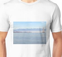 Sailing in November - Lake Constance, Germany Unisex T-Shirt