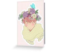Flower Crown Greeting Card