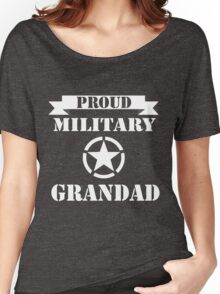 fathers day gift military grandad Women's Relaxed Fit T-Shirt