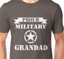 fathers day gift military grandad Unisex T-Shirt
